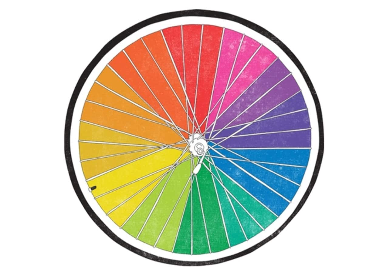 Color Wheel By Ross Zietz Threadless