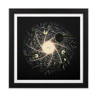 Sky Aperture - black-square-framed-print - small view