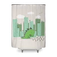 Let's Plant - shower-curtain - small view