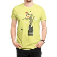 Sock Monkey Just Wants a Friend - mens-regular-tee - small view
