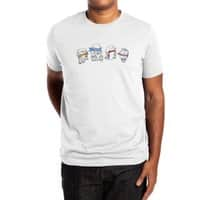 Heroes In An Art Shell - mens-extra-soft-tee - small view
