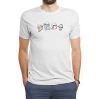 Heroes In An Art Shell - mens-triblend-tee - small view