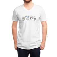Heroes In An Art Shell - vneck - small view