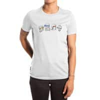 Heroes In An Art Shell - womens-extra-soft-tee - small view