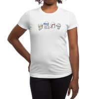 Heroes In An Art Shell - womens-regular-tee - small view