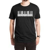 Piano Skyline - mens-extra-soft-tee - small view