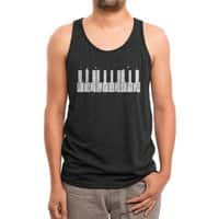 Piano Skyline - mens-triblend-tank - small view