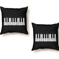 Piano Skyline - throw-pillow - small view