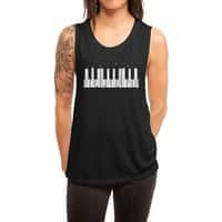 Piano Skyline - womens-muscle-tank - small view