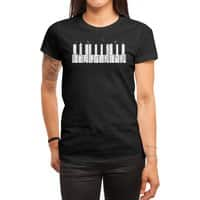 Piano Skyline - womens-regular-tee - small view