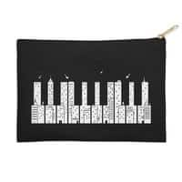 Piano Skyline - zip-pouch - small view