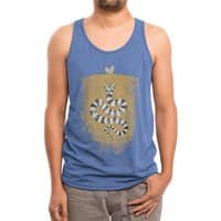Recently Deceased - mens-triblend-tank - small view