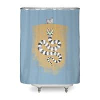 Recently Deceased - shower-curtain - small view