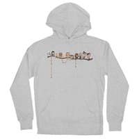 Doctor-Hoo - unisex-lightweight-pullover-hoody - small view