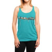 Doctor-Hoo - womens-triblend-racerback-tank - small view