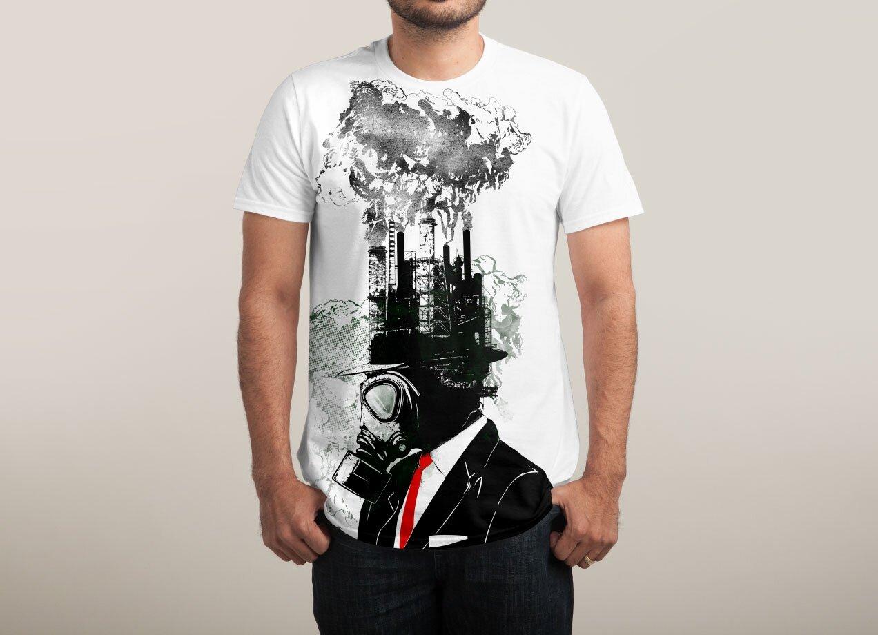 Shirt design for man 2016 - Business Man By Sebastian Govino Threadless