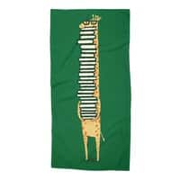 A Book Lover - beach-towel - small view
