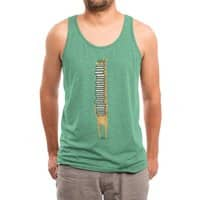 A Book Lover - mens-triblend-tank - small view