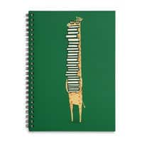 A Book Lover - spiral-notebook - small view