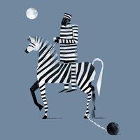 Prisoner on a Zebra - small view