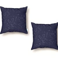 Dot to Dot - throw-pillow - small view