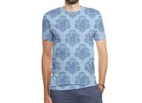 TARDamask - mens-sublimated-triblend-tee - small view
