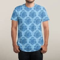 TARDamask - mens-sublimated-tee - small view
