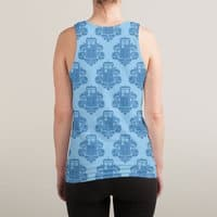 TARDamask - sublimated-tank - small view