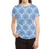 TARDamask - womens-sublimated-triblend-tee - small view