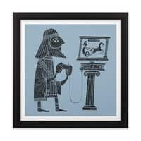 Classic Gamer - black-square-framed-print - small view