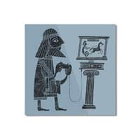 Classic Gamer - square-mounted-aluminum-print - small view