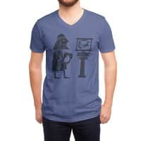 Classic Gamer - vneck - small view