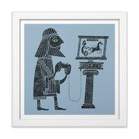 Classic Gamer - white-square-framed-print - small view