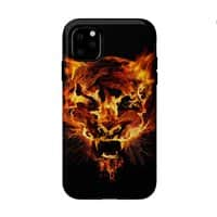 Tyger Tyger, Burning Bright - double-duty-phone-case - small view