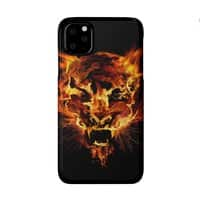 Tyger Tyger, Burning Bright - perfect-fit-phone-case - small view