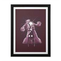 Star Power - black-vertical-framed-print - small view