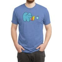 Ice Cream Mann - mens-triblend-tee - small view