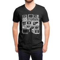 TV Addict - vneck - small view