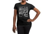 TV Addict - womens-regular-tee - small view