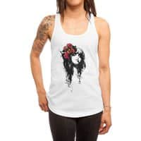 Rose Marry - womens-racerback-tank - small view