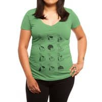 Hare Styles - womens-deep-v-neck - small view