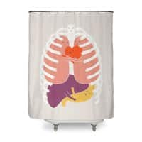 Hugs Keep Us Alive! - shower-curtain - small view