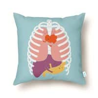 Hugs Keep Us Alive! - throw-pillow - small view