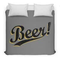 Beer! - duvet-cover - small view