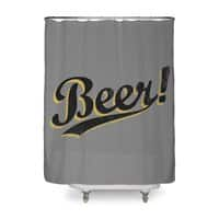 Beer! - shower-curtain - small view