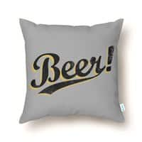 Beer! - throw-pillow - small view