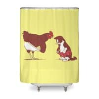 Show Me Yours and I'll Show You Mine - shower-curtain - small view
