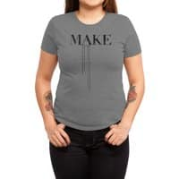 Make - womens-triblend-tee - small view