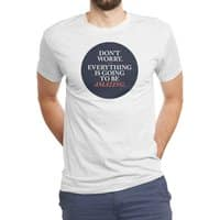 Don't Worry Everything Is Going To Be Amazing - mens-triblend-tee - small view