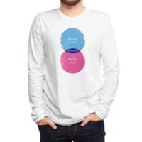 Hell Maybe - mens-long-sleeve-tee - small view